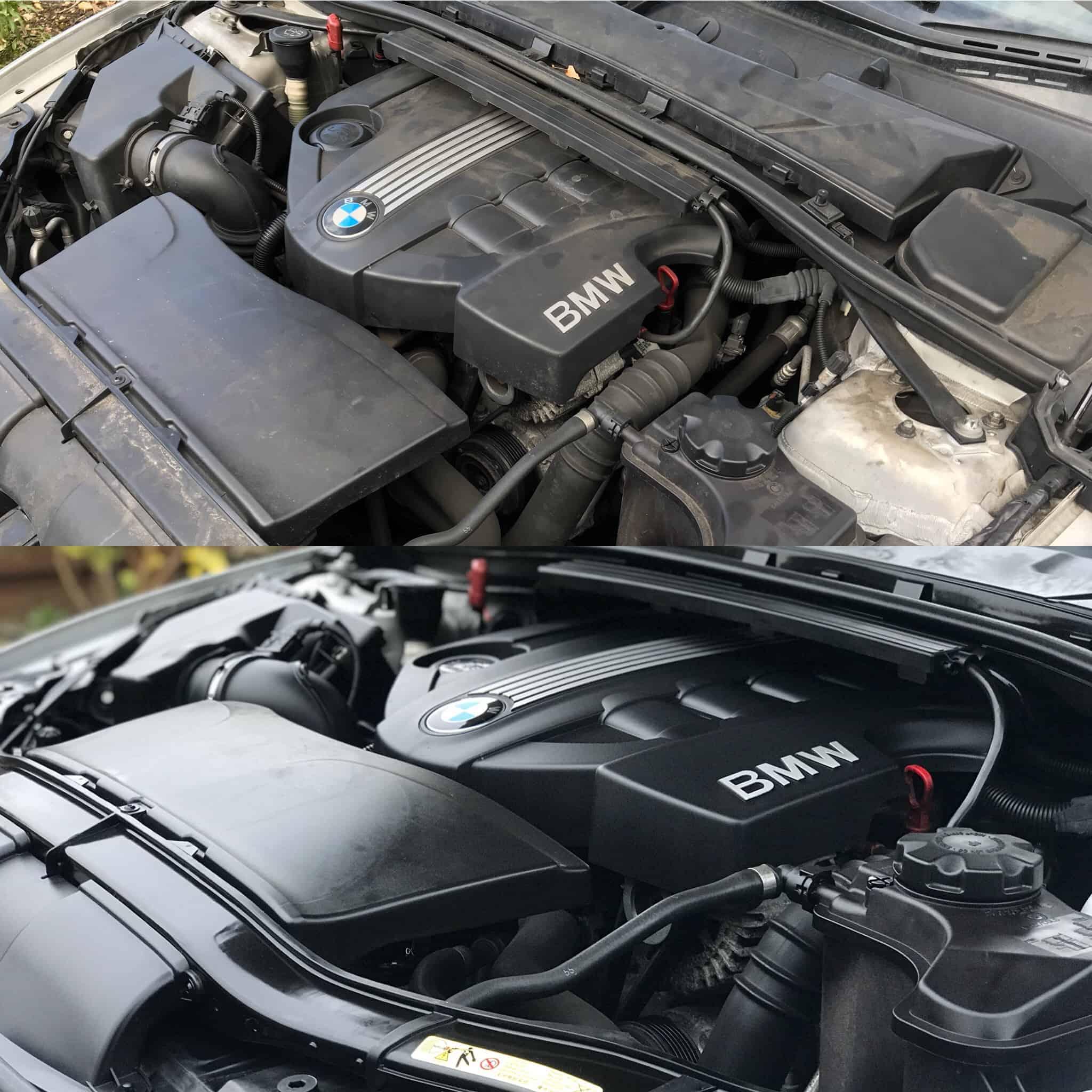 Engine Bay Clean